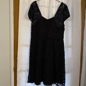 NWT Covington Black Cocktail dress sz 16 Missy